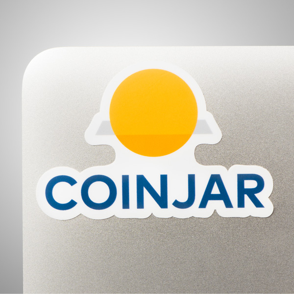 CoinJar Sticker